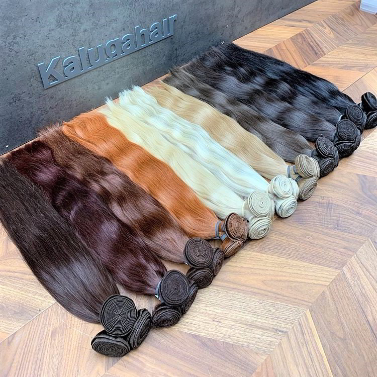 Wefts for Hollywood hair extension technology